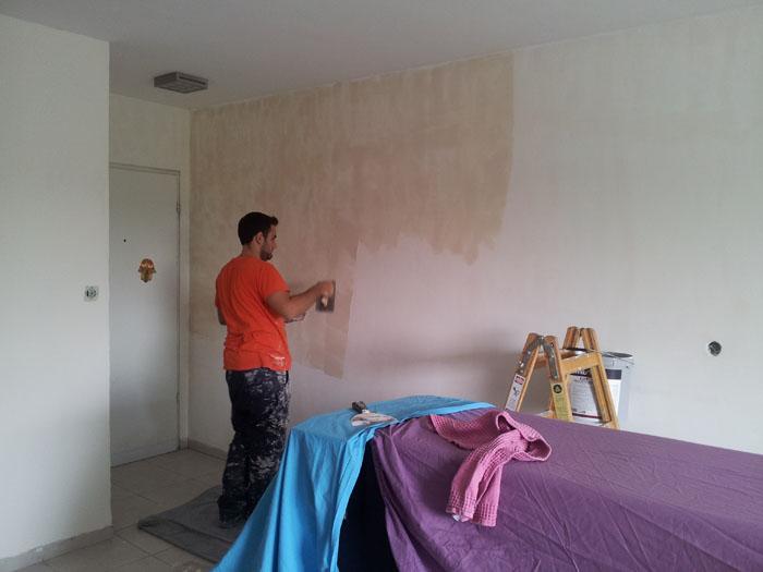 שפכטל אמריקאי בעת שיפוץ דירה
