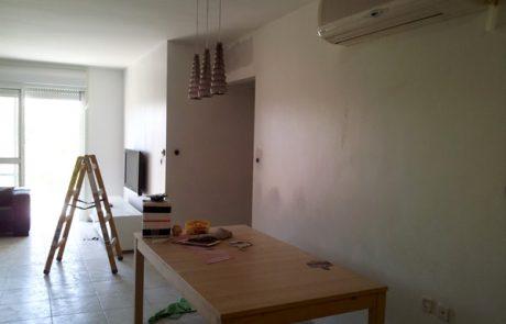 """שיפוץ דירה: דירת 4 חדרים בת 10 בתקציב של עד 20,000 ש""""ח"""